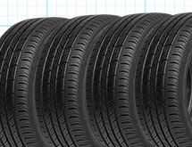 Buy 3 Tires, Get the 4th for $1.<sup>18</sup>
